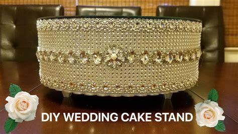 DIY Wedding Cake stand   YouTube
