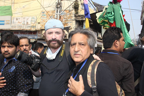 Dr Glenn Losack MD Documenting Moharam Ashura Delhi by firoze shakir photographerno1