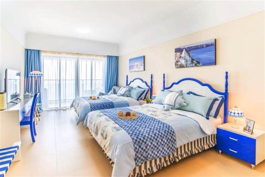 Discount Yidai Holiday 2 Bed Seaside Apartment T