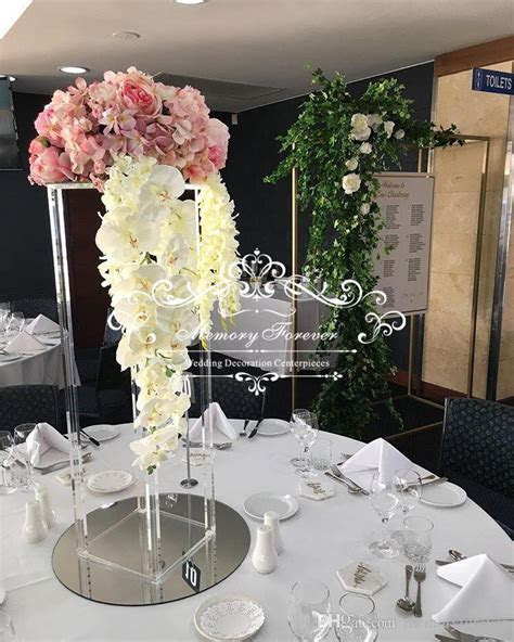 80cm Tall Nice Wedding Center Flower Stands Table Top