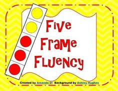 Five Frame: Thinking about numbers using frames of 5 can be a ...