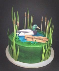 Duck Hunting Grooms Cake   Cakes   Pinterest   Awesome