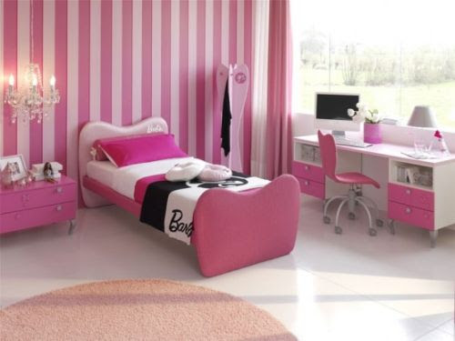 Pink Girls Bedrooms Ideas