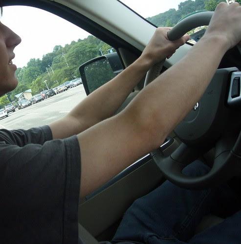 driving <span class=