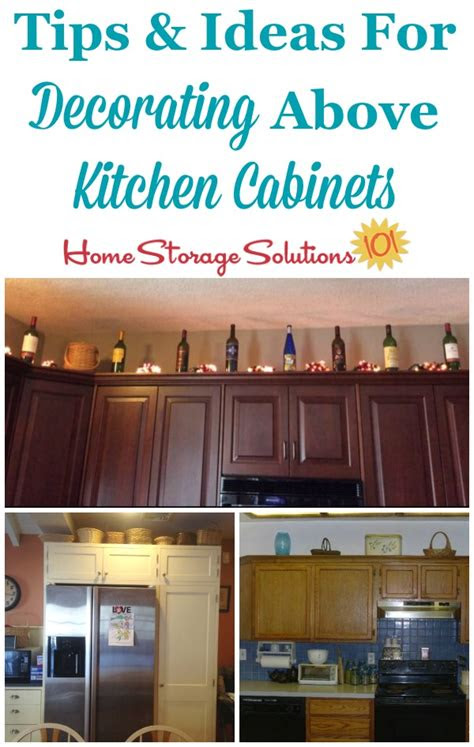 decorating  kitchen cabinets ideas tips
