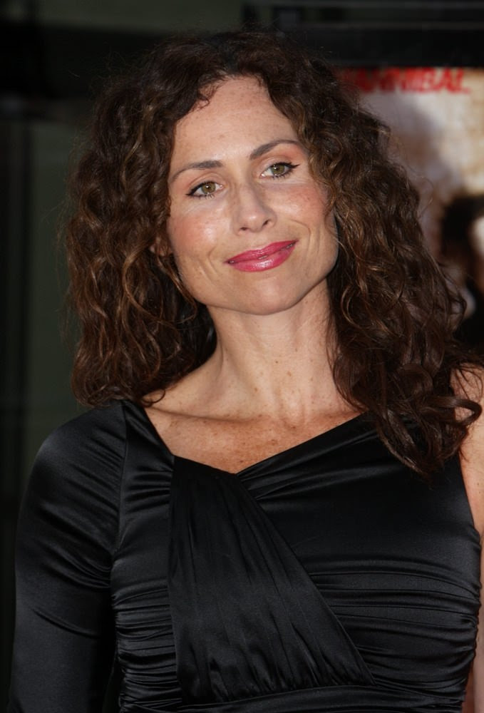 """The A-Team"" World Premiere - Arrivals Minnie Driver Curls"