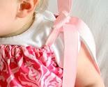 Rose Damask Pillowcase Dress