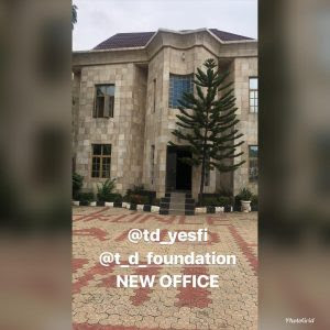 Tonto Dikeh Shares Photo Of Her New Office