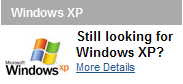 Windows XP still available from Dell
