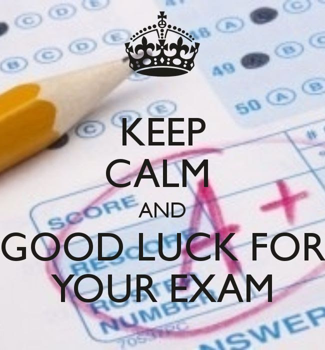 Keep Calm And Good Luck On Your Exam Pictures Photos And Images