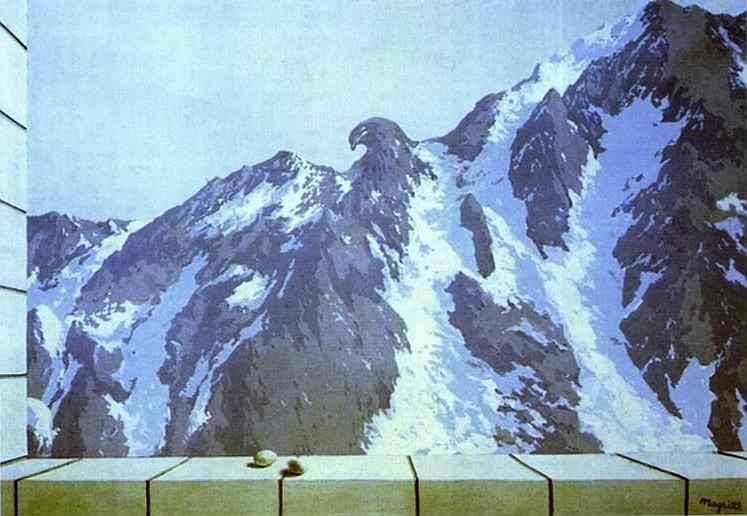 The domain of Arnheim, 1938 Rene Magritte