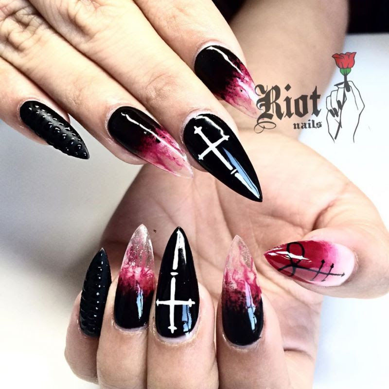 Halloween Ghost Nails 2019 - Jendral Wallpaper
