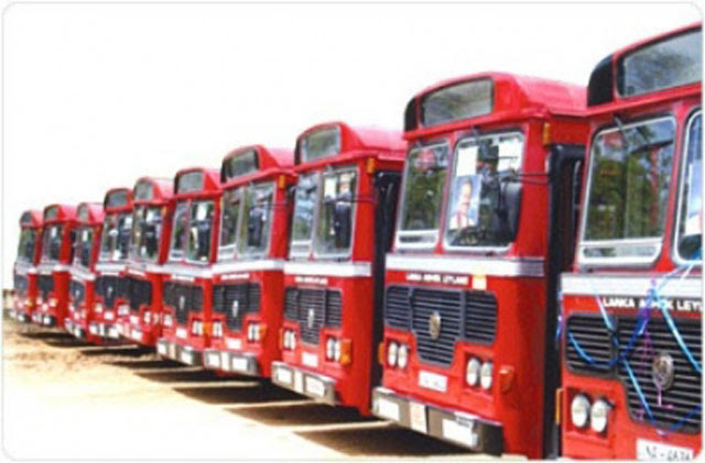 SLTB adds 650 more buses for daily operations to help commuters affected by the train strike