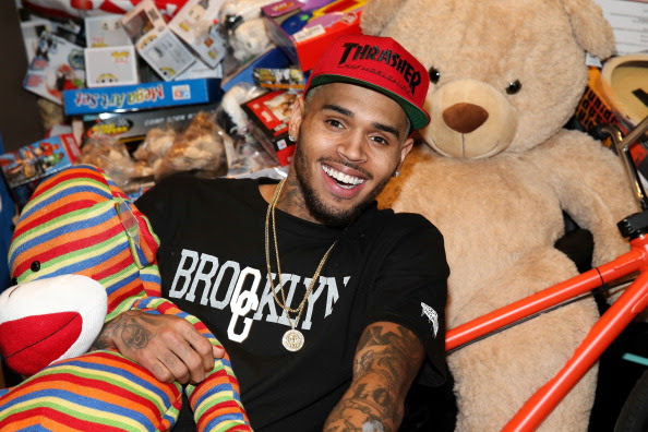 1st Annual Xmas Toy Drive Hosted By Chris Brown And Brooklyn Projects