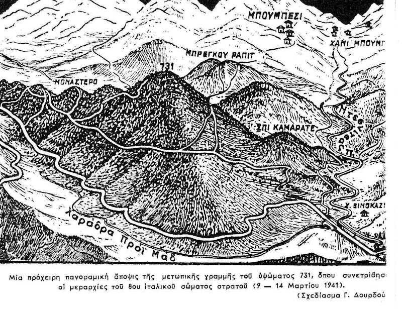 Αποτέλεσμα εικόνας για Υψώματος 731