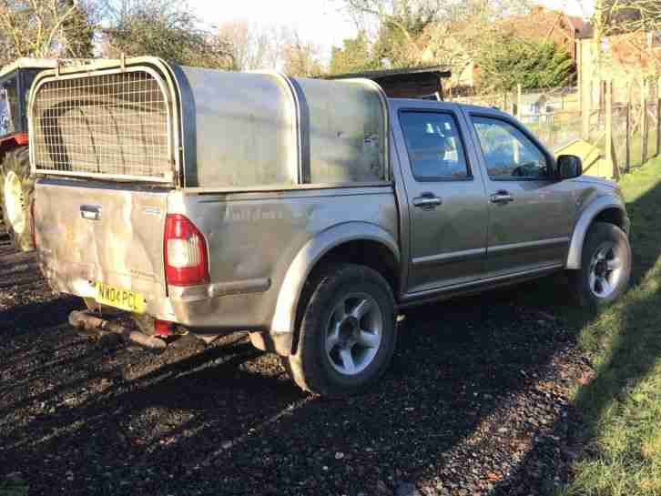 Isuzu 2004 Rodeo 3.0 TD Double Cab Manual 4X4 4WD Ifor