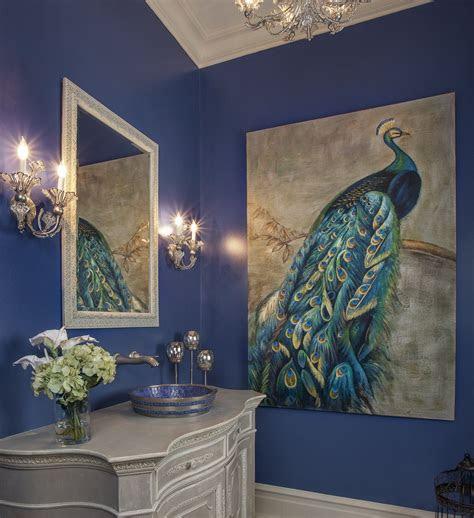 lovely wall   powder room lauren nicole designs