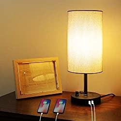 60% OFF Coupon Code For USB Bedside Table Lamp