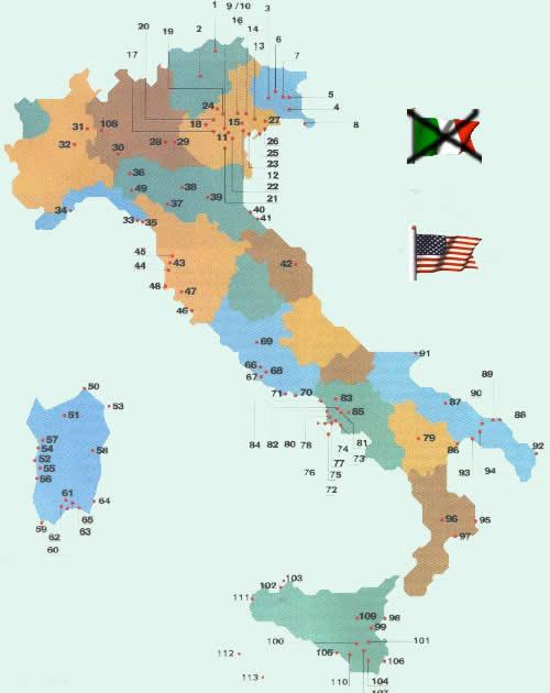 Risultati immagini per basi militari nato in italia