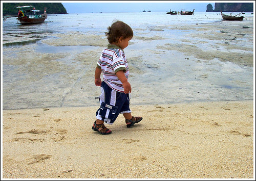 Boy at Phi Phi Island