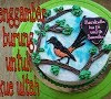 Kue Tart Gambar Burung Murai