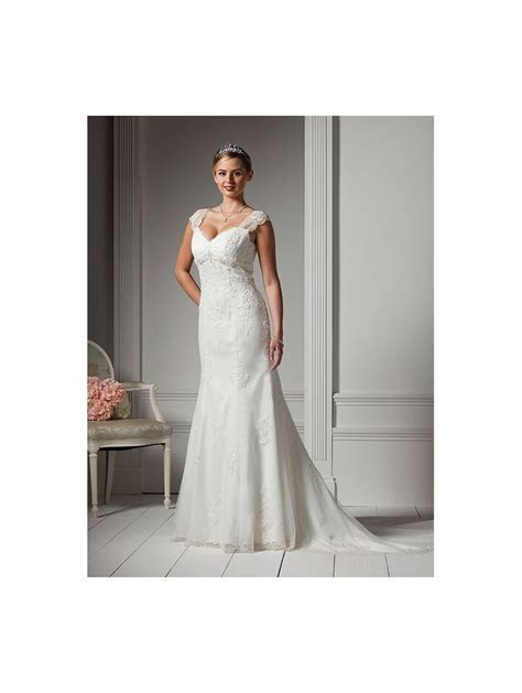 Special Day C12221 Wedding Dress With Straps Beaded Empire