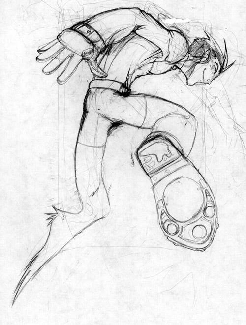 Jumping Beast Boy by Erikonil on DeviantArt