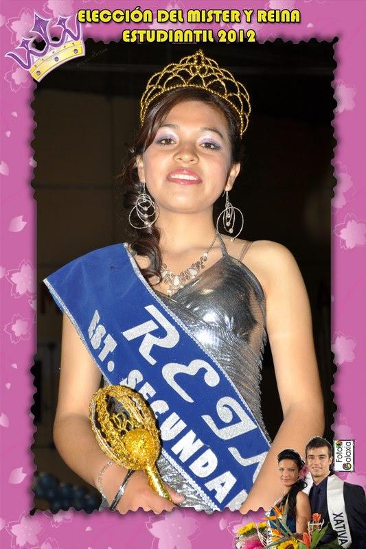 Daniela Llanque - Reina 2012