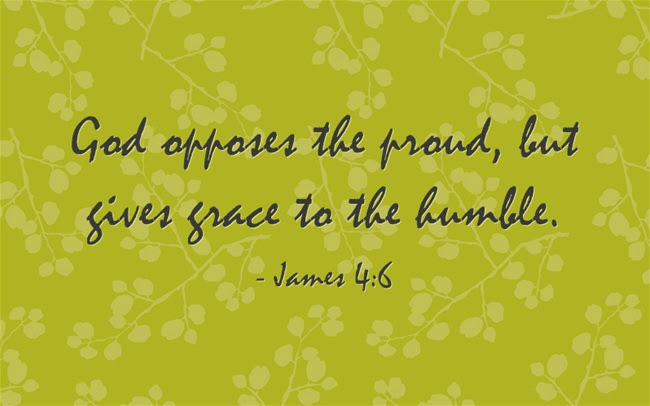 Image result for god opposes the proud but gives grace to the humble meaning