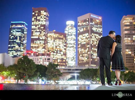 Downtown Los Angeles Engagement   Josh & Lauren