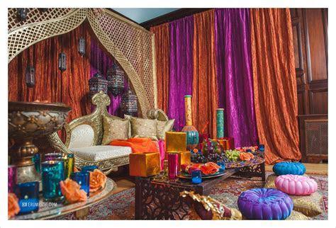 Moroccan Inspired Sangeet Decor Partyland Wedding