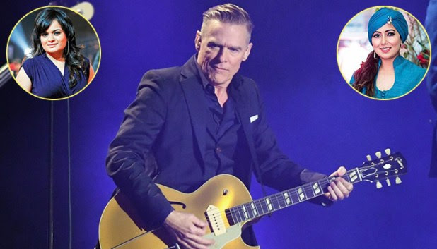Bryan Adams to visit India for a concert, singers Harshdeep, Aditi Singh, among others to accompany him