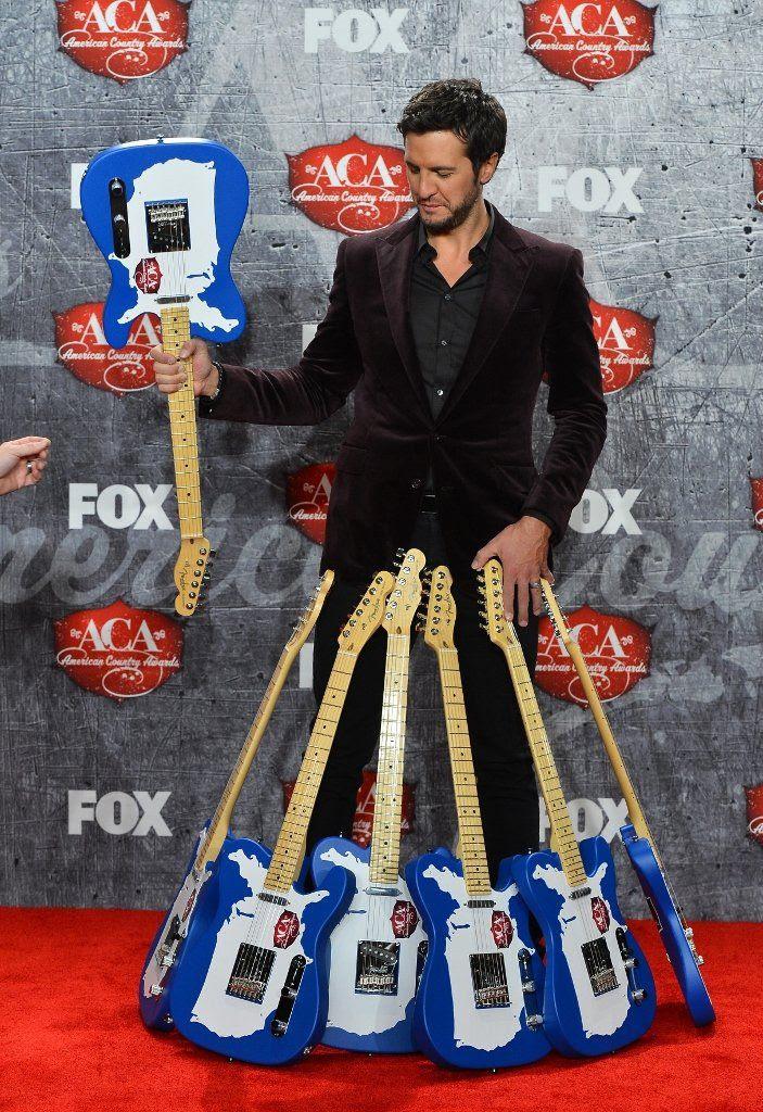 2012 American Country Awards - 12/10/12, Luke Bryan