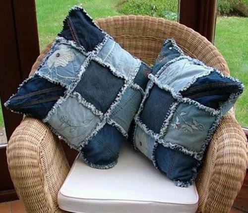 старые джинсы что можно сделать