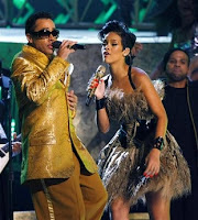 One is Rihanna, one is Morris Day, can you tell which is which?