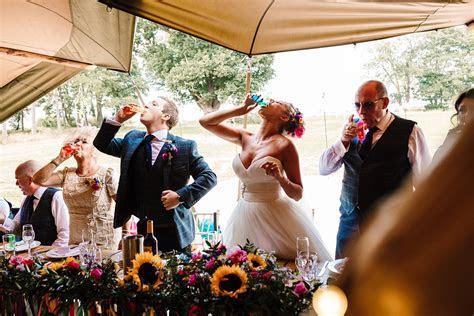 Yorkshire Tipi Wedding   Colourful Decor, Sequins