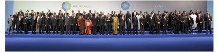 Cimeira Europa África - Foto família