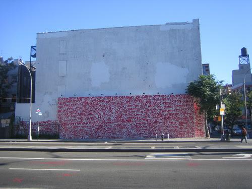 Barry McGee Mural, New York City, 14 September 2010 _7991