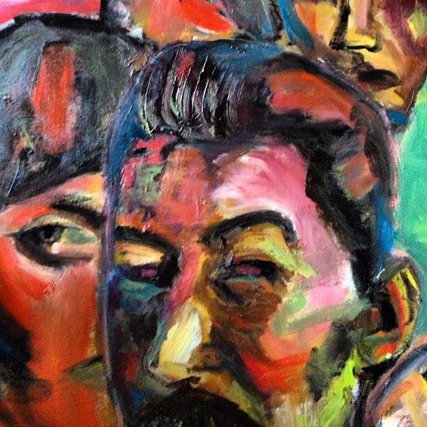 Stalin and ? #art #artist #studio #tbilisi