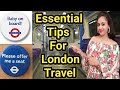 Ye badge phna to sb chhod denge aapke liye seat ( London travel tips )