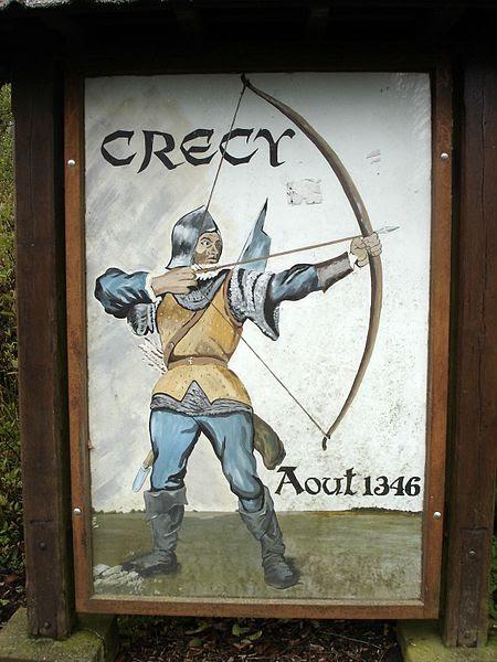 File:Crecy village sign.JPG