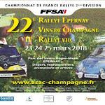 Rallye Epernay Vins de Champagne 2018