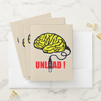 Brain to unload pocket folder