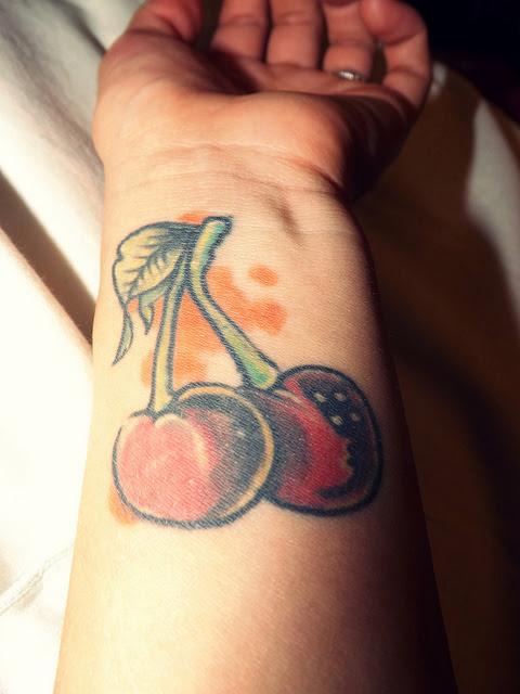 Tatuagens de Cerejas (27)