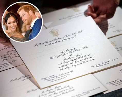 Meghan Markle and Prince Harry?s Wedding Invitation Is