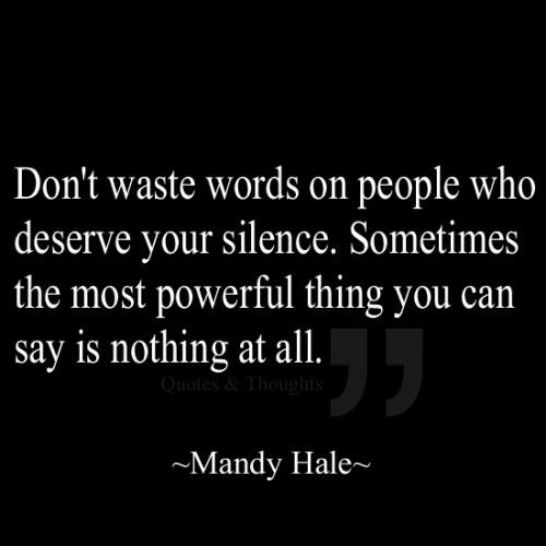 Silence In Relationships Quotes Quotations Sayings 2019