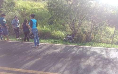 Campo Bonito - Acidente com moto na BR 277 deixa um ferido