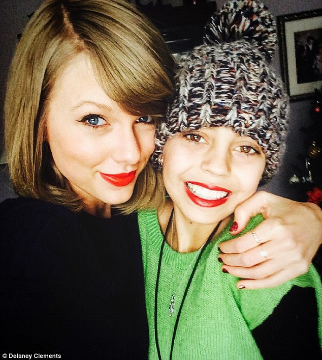 'Merry Christmas baby': Taylor Swift went above and beyond to raise the spirits of megafan Delaney Clements, a teenager who has neuroblastoma