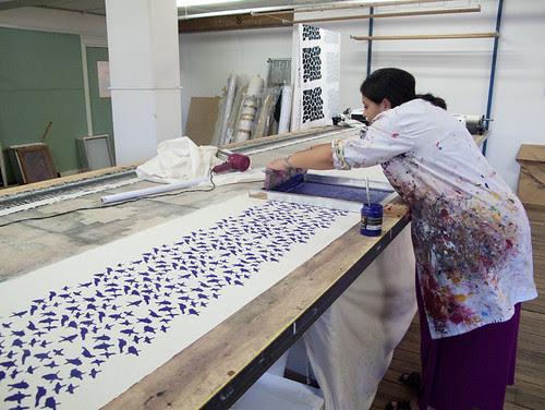 yardage printing classes at Ink & Spindle