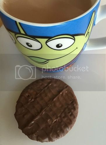 weight watchers chocolate digestive